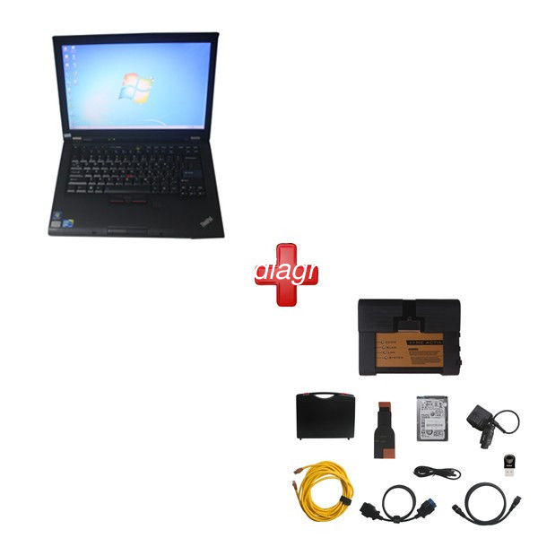 Super BMW ICOM A2 BMW Diagnostic Tools With 2020/8 HDD Plus Lenovo T410 Laptop Support Multi Languages