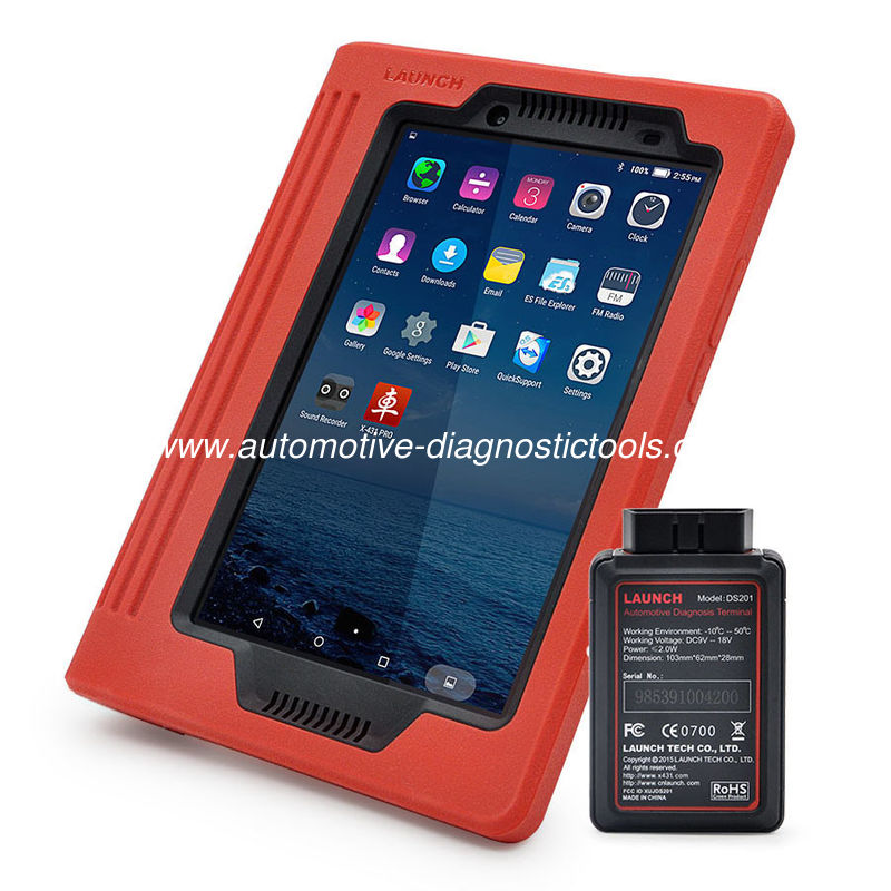 Pro Tablet 8.0 Inch Launch X431 Scanner Global Version Bluetooth / WIFI Diagnostic Tool