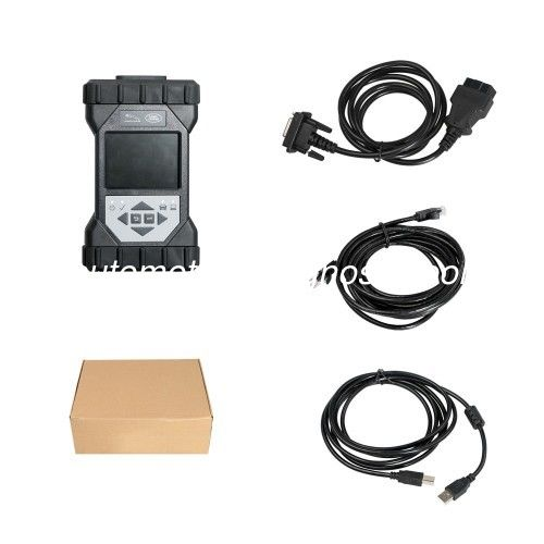 Black Automotive Diagnostic Tools JLR DoIP VCI Pathfinder Interface Support Jaguar Land Rover 2005 - 2019