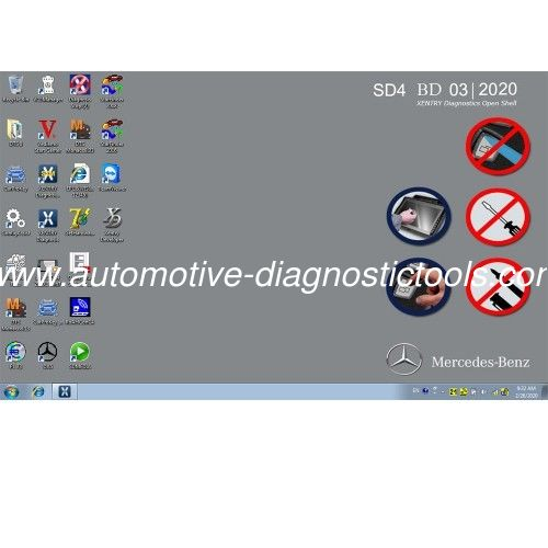 Newest MB SD Connect Compact C4 Software For Dell D630 HDD 2020/3 Version